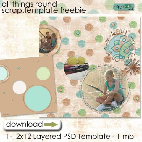 Day 4 – All Things Round Freebie