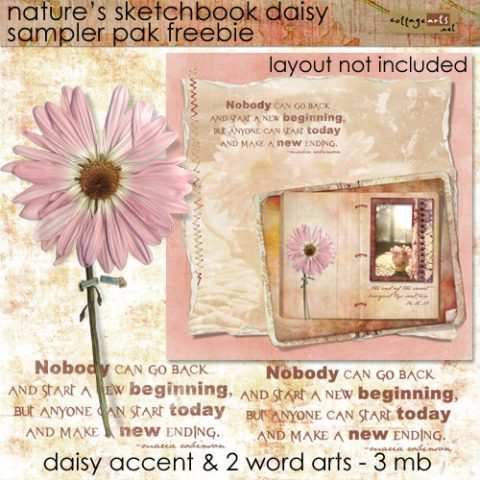 Day 3 – Soft & Pretty Freebie