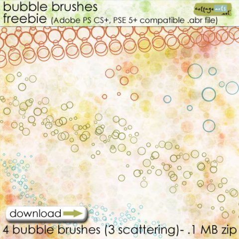 Bubble Brush Freebie