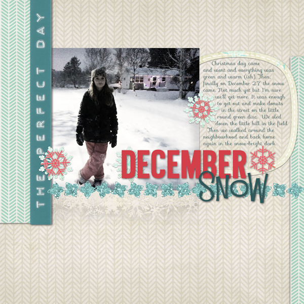 December Snow by Tonya Regular