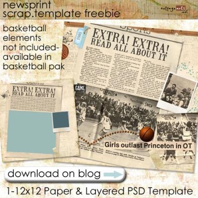 cottagearts-newsprint-scraptemplate-freebie.jpg