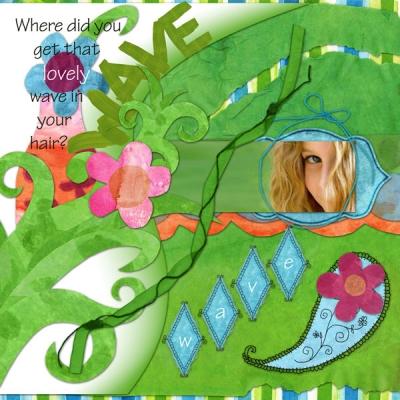 Garden Surprise: background 08