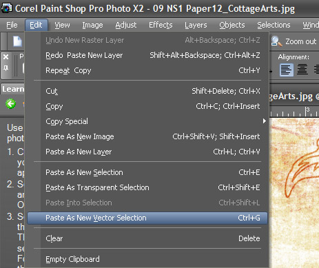How To Bring Up The Font Color Tool In Paint Net