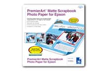 PremierArt™ Matte Scrapbook Photo Paper for Epson